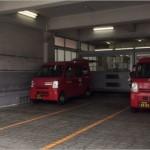 郵便局のトラック1